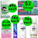 Don't Miss Your TWO (2!) FREEbies & TWELVE (12!) Deals Only 99¢ or Less at Walgreens! ~ Ends Saturday!