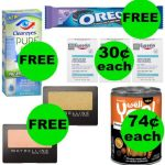 Don't Miss Your FOUR (4!) FREEbies & EIGHT (8!) Deals Just 75¢ or Less At Walgreens!
