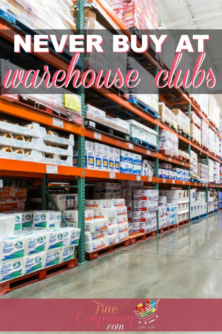 Items you should NEVER buy at Warehouse Clubs | Buying in bulk CAN save you money... but here are TEN items you should NEVER purchase at the Warehouse Clubs!
