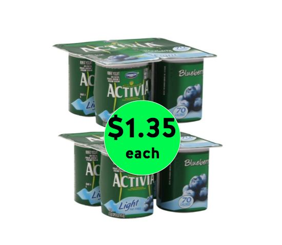 Love Yogurt? Get Activia Yogurt for ONLY $1.35 Each at Winn Dixie {NO Coupon Needed}! ~ Right Now!
