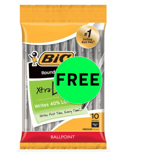 Fox Deal of the Week! FREE BIC Xtra Life Pens 10ct!!