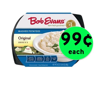 Stock Up on 99¢ Bob Evans Side Dishes at Target! ~ NOW!