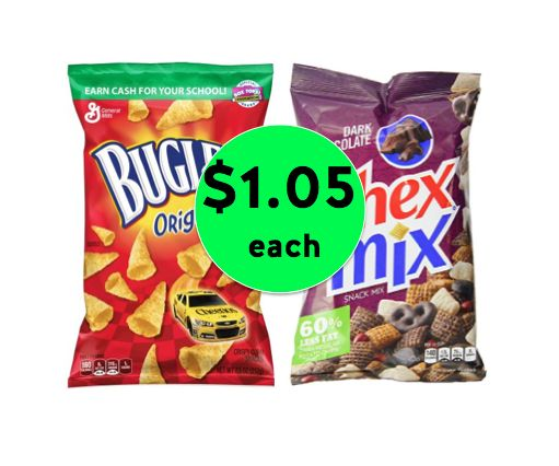 Snack Time! Get Chex Mix or Bugles for ONLY $1.05 Each at Winn Dixie! ~Right Now!