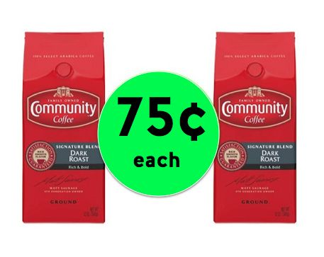 CHEAP Coffee! Get Community Coffee for Only 75¢ Each at Walgreens! ~ Today Only!