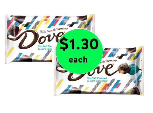 Pick Up Dove Chocolate Limited Edition Candy Bags ONLY $1.30 Each at Target! ~ Ends Saturday!