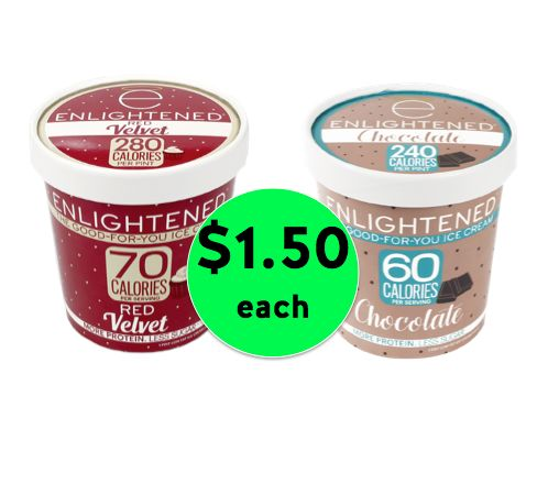 Get Enlightened Ice Cream Only $1.50 Each at Winn Dixie! ~ Starts Wednesday!