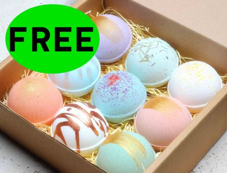 Did You Request Your FREE Bath Bomb?!