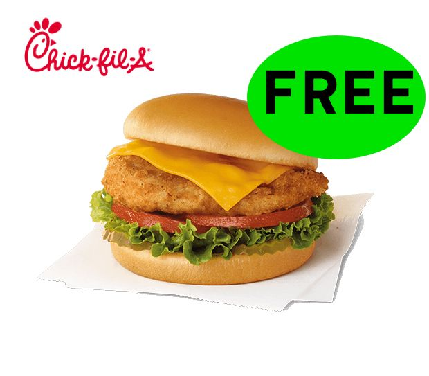 TODAY'S THE DAY FREE Chick-Fil-A!