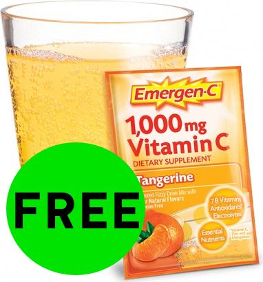 FREE Emergen-C Packet!