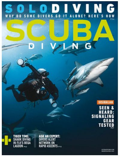 FREE Annual Subscription to Scuba Diving Magazine! {$43 Value!}