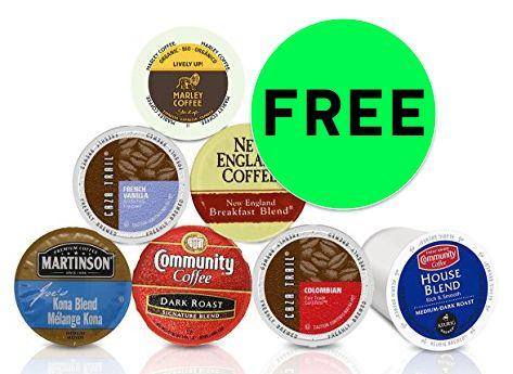 FREE Single Serve Coffee Pod Sample Box!