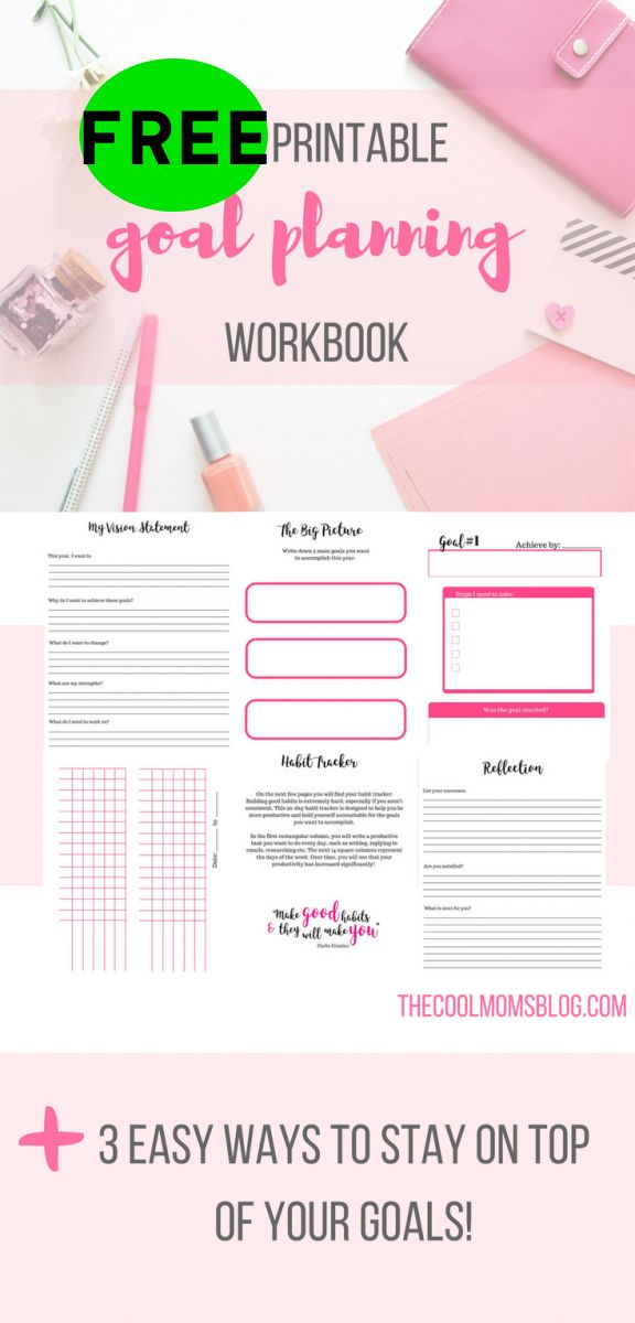 FREE Goals Setting Workbook!