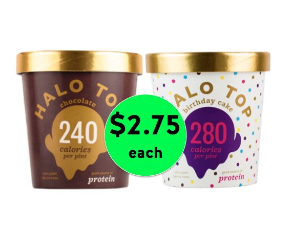 Trim Healthy Mama Favorite! Pick Up Halo Top Ice Cream Only $2.75 Each at Winn Dixie {NO Coupon Needed}! ~ Starts Tomorrow!