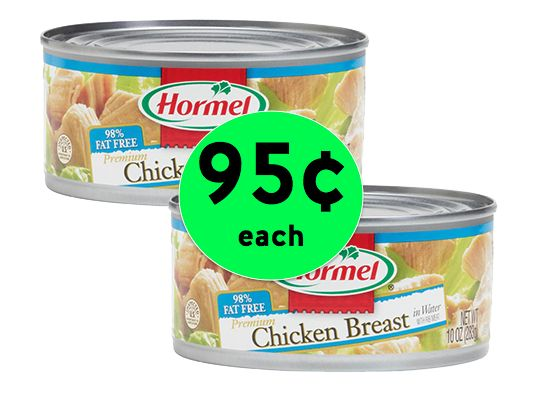 Get Hormel Chunk Chicken Breast for Only 95¢ Each at Winn Dixie! ~ Happening Now!