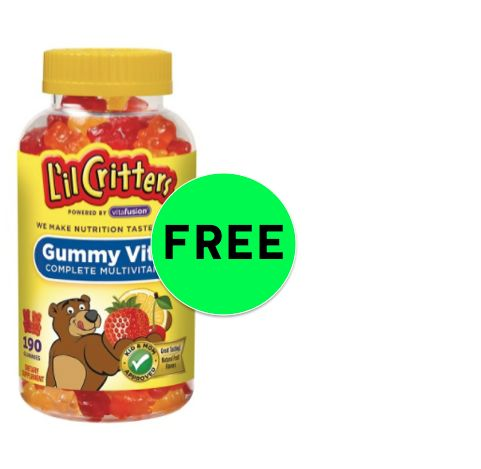 FREE L'il Critters Vitamins at Target! ~ Ends Saturday!