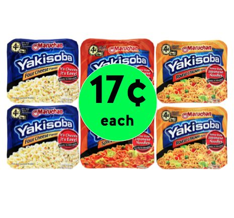 Quick CHEAP Lunch! Pick Up Maruchan Yakisoba Only 17¢ Each at Winn Dixie! ~ Ends Tomorrow!