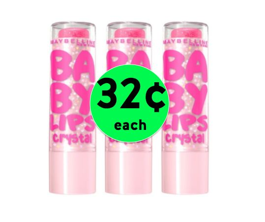 Get Excited Over 32¢ Maybelline Baby Lips Lip Balm at Target! ~ Starts Sunday!