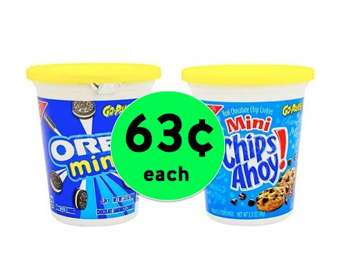 Snack Anytime, Anywhere with Nabisco Go-Packs Only 63¢ Each at Winn Dixie! ~Right Now!