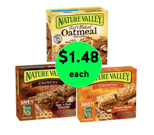 Good Snacking! Pick Up Nature Valley Bars Only $1.48 Each at Walmart! ~Right Now!