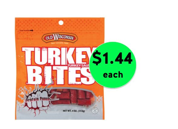 Old Wisconsin Turkey Bites $1.44 Each at Walmart {Over 50% Off!}! ~Right Now!