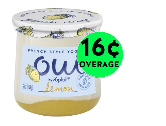 FREE Oui French Style Yogurt + 16¢ Overage at Walmart! ~ Right Now!