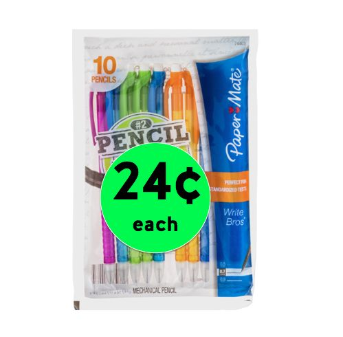 Write Now! Pick Up Paper Mate Mechanical Pencil Packs Only 24¢ Each at Walgreens!