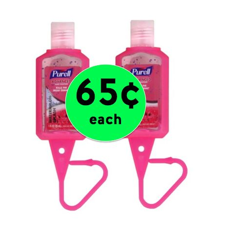 Keep Germs at Bay with 65¢ Purse Sized Purell Hand Sanitizers at Target! ~ NOW!