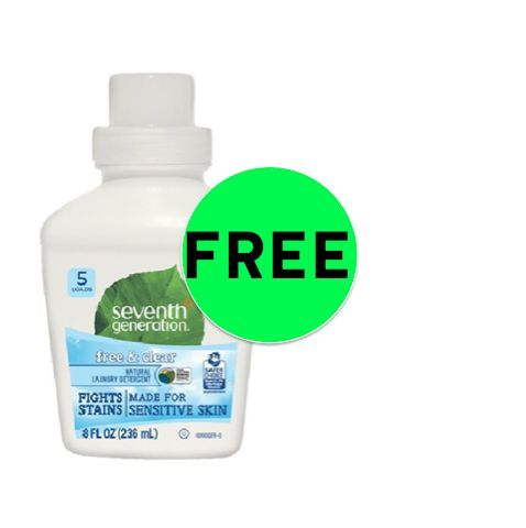 {Update: NLA!} FREE Seventh Generation Laundry Detergent {Reg. $2.99} at Target! ~ This Week Only!