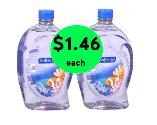 Stock Up on Hand Soap with {BIG} Softsoap Refill Bottles Only $1.46 Each at Walgreens! ~ Going On Now!
