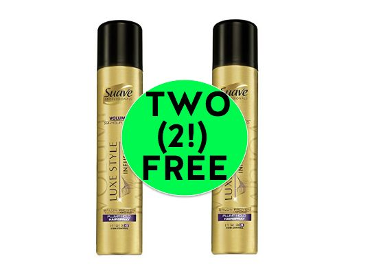 Don't Miss Out on TWO (2!) FREE Suave Professionals Hair Styling Products or Lotion at Winn Dixie! ~ Right Now!