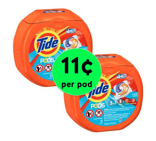 Nab Tide Pods or Gain Flings JUST 11¢ Per Load at Target! ~ Ends Saturday!
