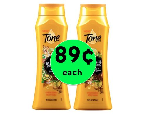 Print NOW for 89¢ Tone Body Wash at Target! ~ Happening Right Now!