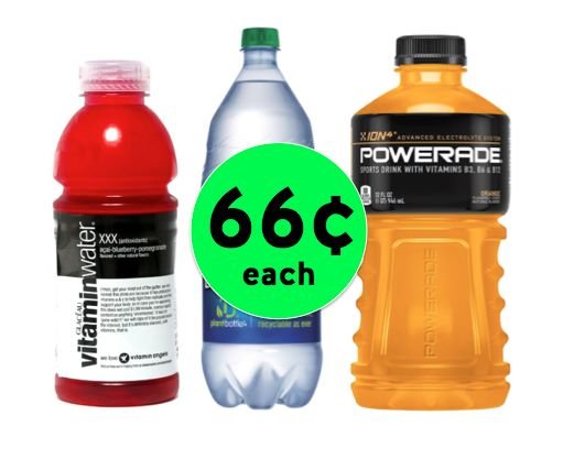 Stay Hydrated! Pick Up Vitaminwater, Dasani or Powerade Only 66¢ Each at Walgreens {NO Coupon Needed}! ~ Ends Today!
