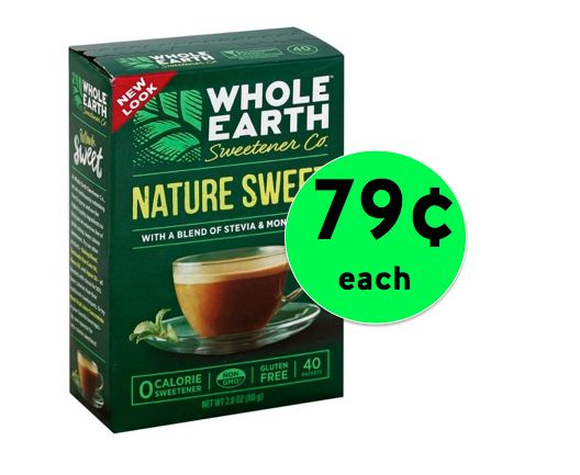 Sweeten Up with 79¢ Whole Earth Nature Sweet Packets at Target! ~ Going On Now!