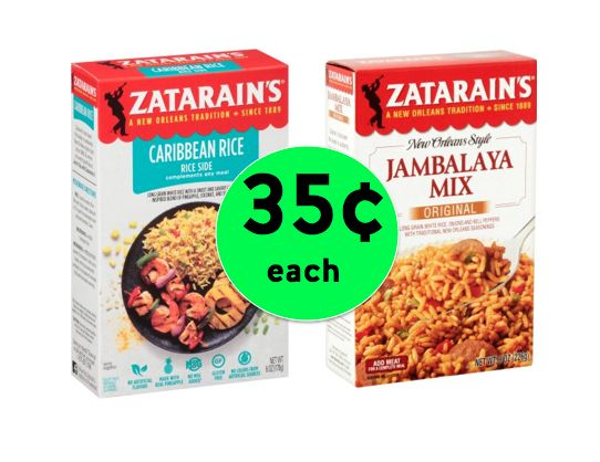 Kick Dinner Up a Notch with Zatarain's Rice Sides Only 35¢ Each at Winn Dixie! ~Right Now!