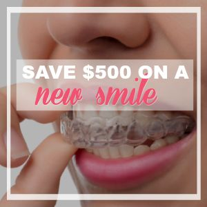 Head Back To School With A New Smile! Save $500 Off Full Braces or Invisalign! {Limited Time!}