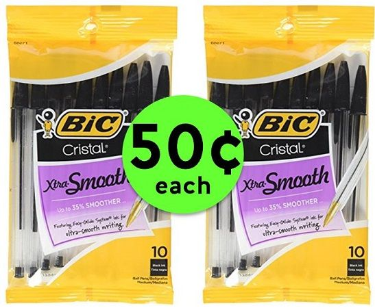 Write Away with Bic Cristal Pens ONLY 50¢ Each at CVS! ~ Ad Starts Today!