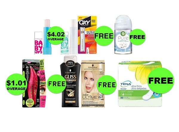 HOORAY for EIGHT (8!) FREEbies & NINE (9!) Deals JUST $0.75 Each or Less at CVS! ~ Ad Starts Today!