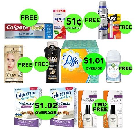 Find Twelve (12!) FREEbies & EIGHT (8!) Deals Just 74¢ Each or Less at CVS! ~ Ad Ends Today!