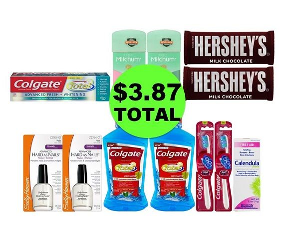 For Only $3.87 TOTAL, Get (1) First Aid Ointment, (2) Deodorants, (2) Candies, (2) Nail Polishes & (5) Oral Care Products This Week at CVS!