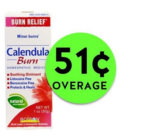 Don't Miss FREE + 51¢ OVERAGE on Calendula Cream Burn Cream at CVS! ~ Ends Saturday!