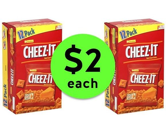 Perfect For Lunches, Nab $2 Cheez-Its Cracker Multipacks at Publix! ~ Ends Today!