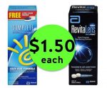 SEE Clearly with $1.50 Complete or Revitalens Contact Solution {Reg. $9} at Publix! ~ Starts Weds/Thurs!