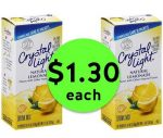 Refreshing Deal! Nab Crystal Light Drink Mixes ONLY $1.30 Each at Publix! ~ Ends Tues/Weds!