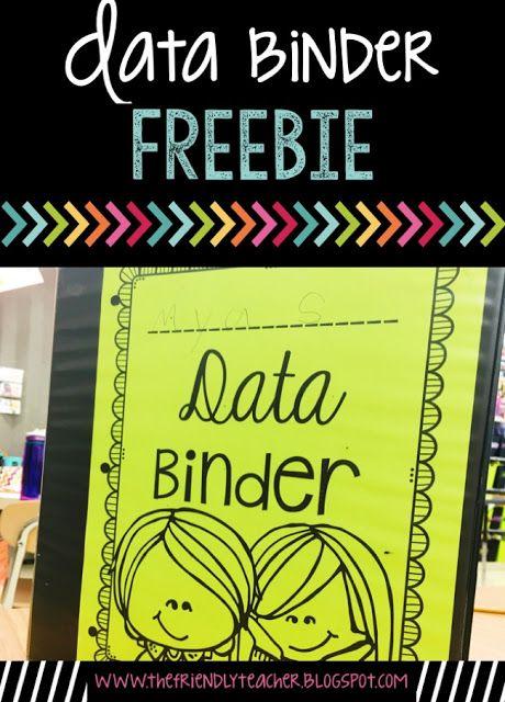 FREE Data Binder Printable!
