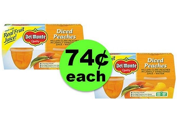 Lunch Box Stock Up! Nab 74¢ Del Monte Fruit Bowls at CVS! ~ Going On Now!