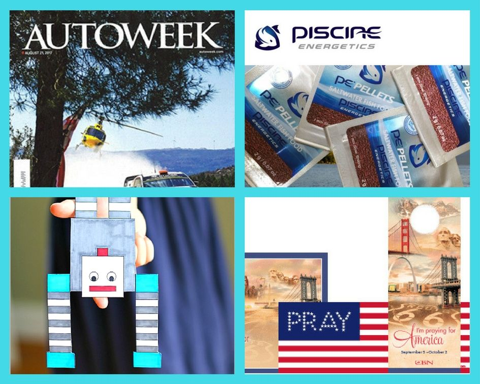 FOUR (4!) FREEbies: Annual Subscription to Autoweek Magazine, Mysis Pellets Fish Food, Balancing Robot Printable and Pray for America Resources!