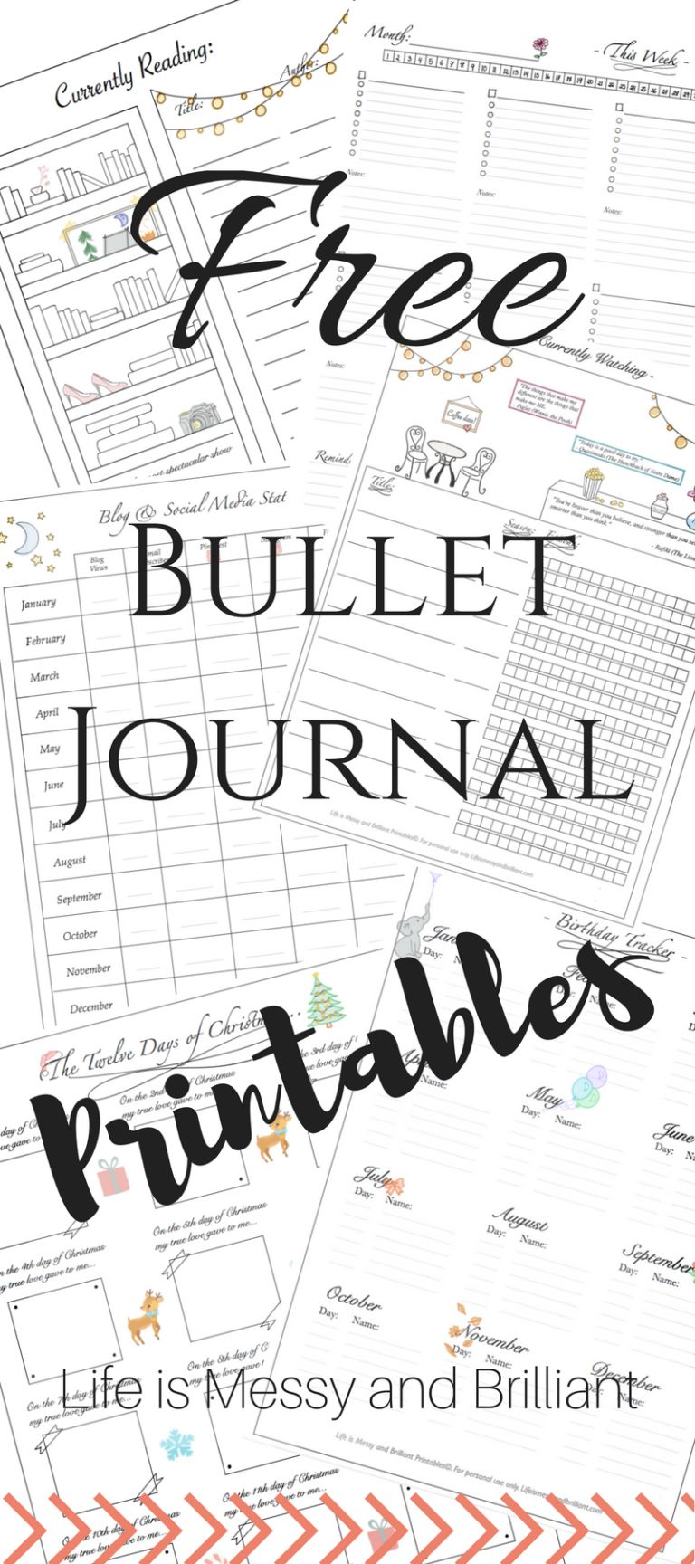 FREE Bullet Journal Printables!