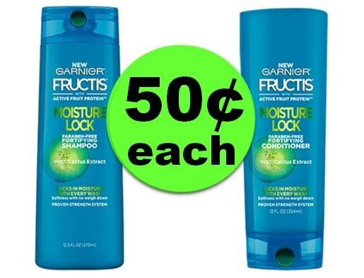 Lock In This Deal! Garnier Fructis Hair Care ONLY 50¢ Each at CVS! ~ Starts Sunday!