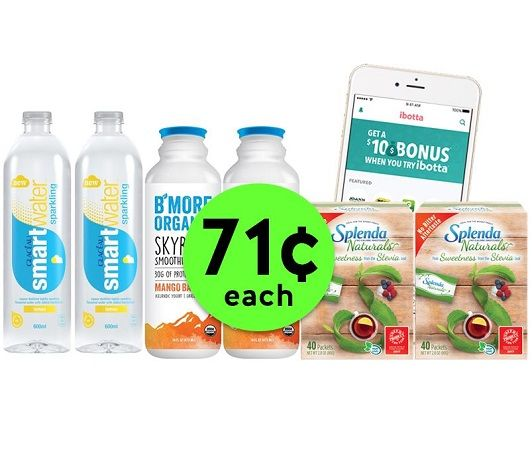 Get SIX (6!) Items for ONLY 71¢ Each with Ibotta Rebates at Publix! ~ NOW!